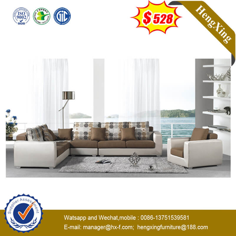 European Style Large Sofa Set Home Livingroom Wooden Furniture