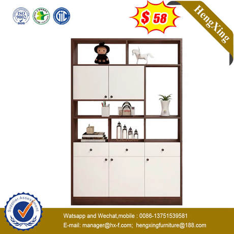 High Quality Modern Living Room Storage Wood Cabinet Shelving