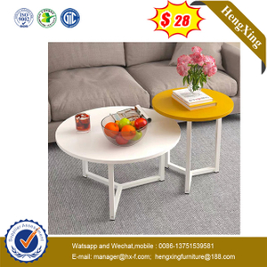 Hot Sell Office Hotel Home Round Shape Living Room Coffee Table