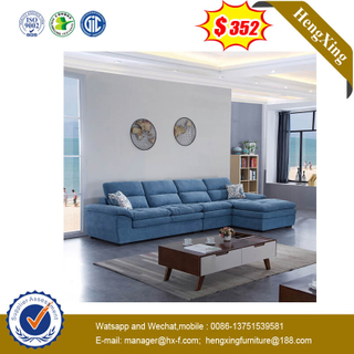 Factory Price Modern Design L Shape Fabric Home Sitting Room Sofa