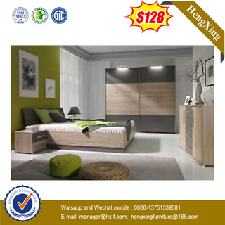 Economical Modern Hotel Used Furniture 1.8m Master Double Bed Bedroom Set