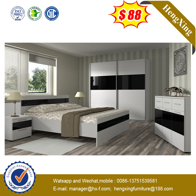 Oak Solid Wood Single Double King Queen Size Bedroom furniture bed
