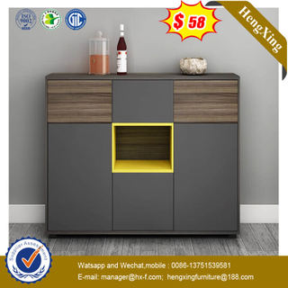 Modern Wooden Side Storage Cabinet Bedroom Furniture Set