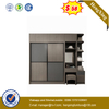 No MOQ Imported Metal Hardware Simple Design Double Room Wardrobe