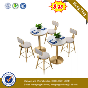 Fashion China furniture home hotel Wooden dining table set