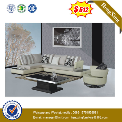 New Design White Living Room Genuine Bedroom Sofa Furniture Leather Sofa