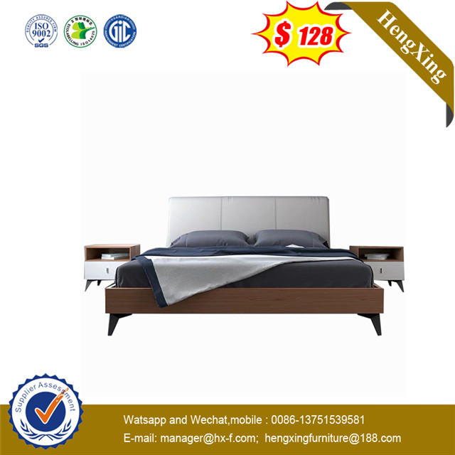 Lower Price 3 Year Quality Warranty Elegegant Double Bed