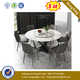 Wooden Furniture Dining Set Home Table Modern Dining Tables with steel leg
