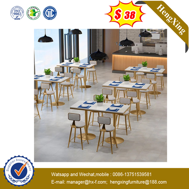 Customized Marble Wooden Hotel Restaurant Dining Coffee Table sets