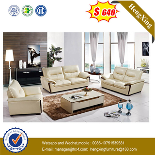 Modern Office Meeting Conference Furniture Home Living Room Leisure Leather Sofa With Coffee Table