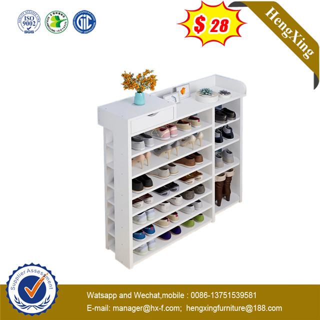 Modern wooden Mdf Large Storage 50 Pairs of Shoes Cabinet Rack shelf