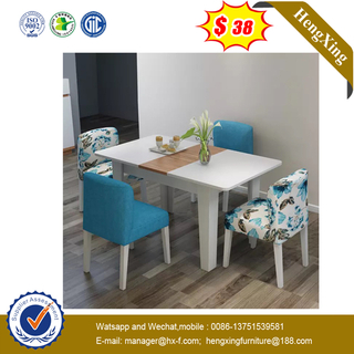 Customized Italian Home furniture Marble  Wooden Dining Table with chair for Restaurant hotel