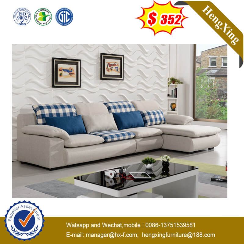 Elegant Design Erogonomic Aluminum Furniture Fabric Leather Sofa Bed