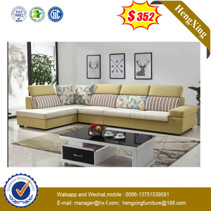 Modern Livingroom Hotel Office Reception Leisure Fabric Corner Sofa