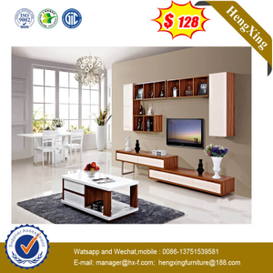 Modern Hotel Livingroom Furniture Set Tea Table TV Cabinet Combination Wall Cabinet