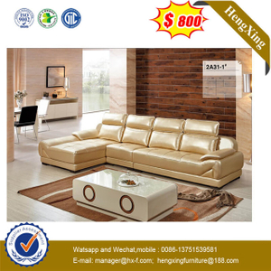 Gold Customization Modular Reclining Living Room Lounge Modern Genuine Leather Sofa