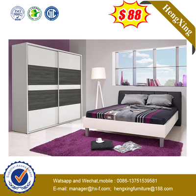 Hotel Apartment Furniture High Box Pneumatic Metal Frame Bedroom Bed Storeable