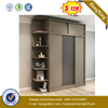 Classic 2.4 MeterBlack Discouted Price Furniture Wardrobe