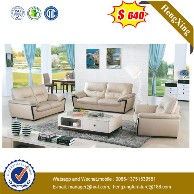 Living Room Guest Home Garden Furniture Modern Fabric Leather Living Room Sofa