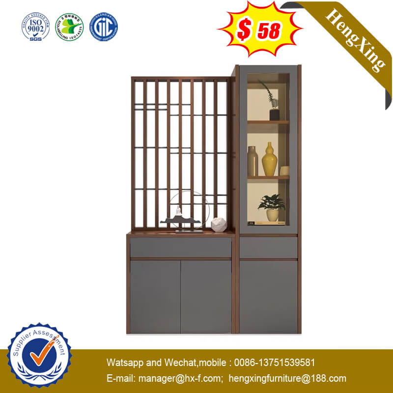 Modern Porch Shoe Cabinet Multifunctional Partition Storage Cabinet