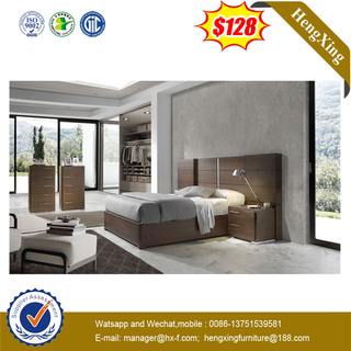 Good Quality Home Hotel Wooden Bed Bedroom Set