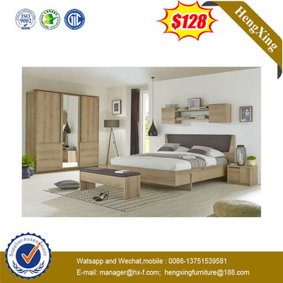 Factory Wholesale Solid Wood Modern Hotel Home Furniture For Bedroom Set