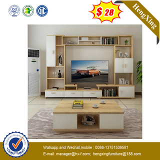 Wholesale Home Livingroom Melamine Wooden TV Table Storage Cabinet Furniture