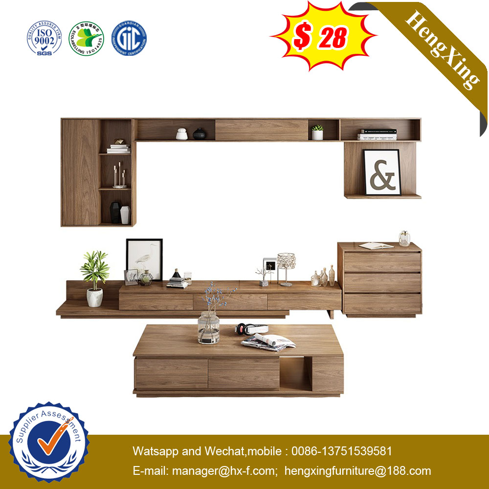 High Quality Customized Nordic Furniture Wooden Storage Modern Home TV Stand