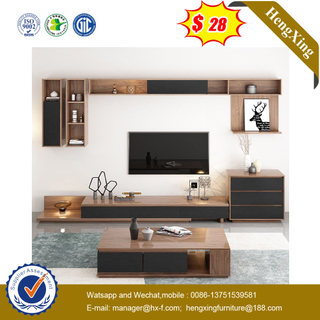 Modern Wooden Home Hotel Bedroom Dining Living Room Sofa Furniture TV Stand