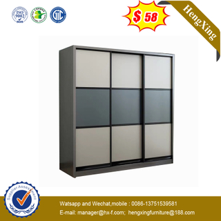 Modern Wooden Sliding Bedroom Wardrobe Home Furniture Wardrobe Set