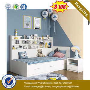 High Quality Kids Bedroom Furniture Set Bookcase wardrobe drawer cabinets Children Bunk Bed