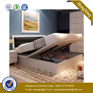 Luxury Modern Bedroom King Size Solid Wood Frame Furniture Beds