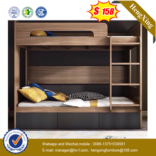 Wholesale Modern Wood Bedroom Set Living Room Furniture Children Single Double Bunk Kids Beds