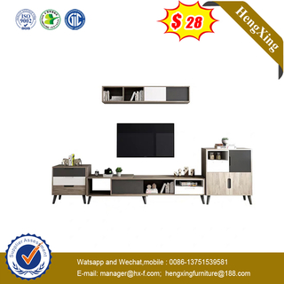 best price round classic design modern MDF TV cabinet wooden coffee table for living room