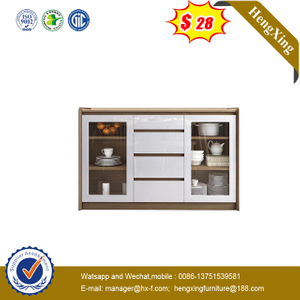 Chinese Living Room Furnitutre Simple Wooden Hall Show case drawer Cabinet Wine Cabinet
