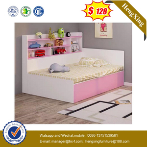 Modern Wooden Dormitory Children Bedroom baby Furniture Double Single Kids Bunk Bed