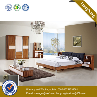 Chinese Modern Home Furniture Wooden MDF House Use Apartment Villa Single Room Bedroom Furniture