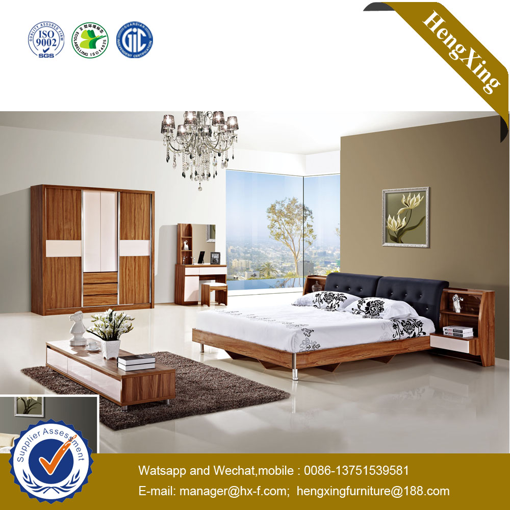 Commercial Wooden Hospital Bedroom Furniture Sets Mattresses Dressing Table Double King Wall Beds