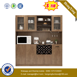 Factory Luxury MDF Wooden Cupboard Showcase Designs Large Drawer Kitchen Cabinet
