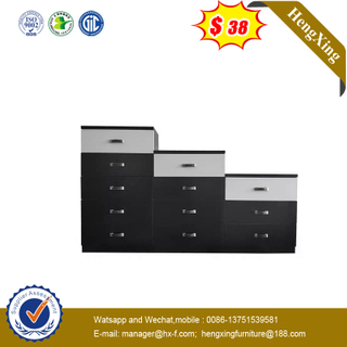 Office Wood Furniture 3/4/5 Drawers Vertical Wooden Storage Filing Cabinet