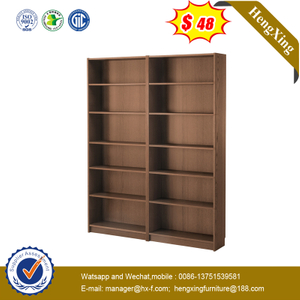 Manufacturer Wholesale Wood Bookshelf 7 Layers Bookcase