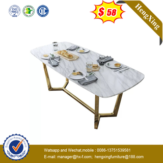 Custom New Design Modern Luxury Wood Dining Room Furniture Dining Table