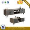 Elegant living room solid wood coffee table MDF board TV cabinet set