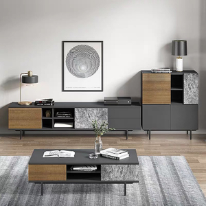 Modern Wooden TV Cabinet Living Room Furniture Entertainment Unit MDF TV Stands