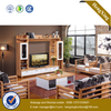 Factory Price Modern Nordic Style Fashion Wooden TV Cabinet Coffee Table Set