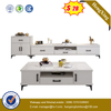 Modern Hotel Wooden TV Unit Living Room Cabinet Dining Furniture TV Stand coffee table