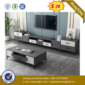 Chinese Modern Hotel Office Wood Bedroom Home Dining Living Room Furniture TV stand side cabinets coffee tables