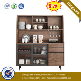 Home Bedroom Furniture Rack Storage Shelf Wine Bar Dining Wine Sideboard Kitchen