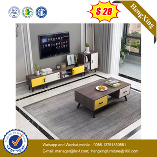 Customized Size Living Room Furniture Storage Wooden Modern TV Stand