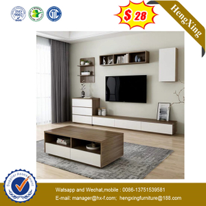 Drawer Storage cabinets Design Living Room Furniture Wooden TV Stand Coffee Table Set